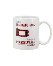 JUST A COLORADO GIRL IN A PENNSYLVANIA WORLD Mug thumbnail