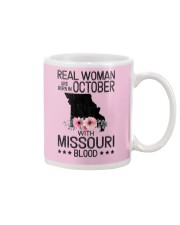 REAL WOMAN ARE BORN IN OCTOBER WITH MISSOURI BLOOD Mug thumbnail