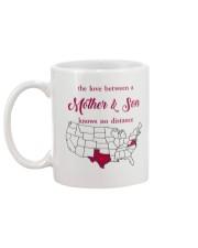 TEXAS VIRGINIA THE LOVE MOTHER AND SON Mug back