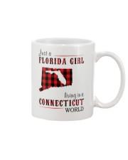 JUST A FLORIDA GIRL IN A CONNECTICUT WORLD Mug thumbnail