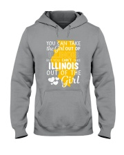 YOU CAN'T TAKE ILLINOIS OUT OF THE GIRL Hooded Sweatshirt thumbnail