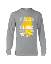 YOU CAN'T TAKE ILLINOIS OUT OF THE GIRL Long Sleeve Tee thumbnail