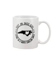 OHIO GIRL LIVING IN NORTH CAROLINA WORLD Mug thumbnail