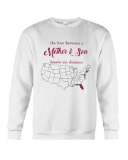 FLORIDA CONNECTICUT THE LOVE MOTHER AND SON Crewneck Sweatshirt thumbnail