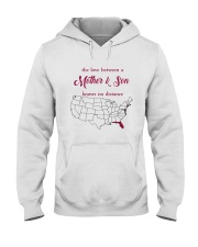 FLORIDA CONNECTICUT THE LOVE MOTHER AND SON Hooded Sweatshirt thumbnail