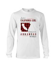 JUST A CALIFORNIA GIRL IN AN ARKANSAS WORLD Long Sleeve Tee thumbnail