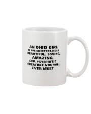 AN OHIO GIRL IS THE SWEETEST YOU'LL EVER MEET Mug thumbnail