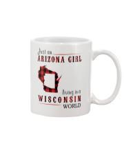 JUST AN ARIZONA GIRL IN A WISCONSIN WORLD Mug thumbnail