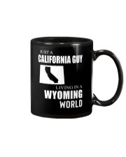 JUST A CALIFORNIA GUY IN A WYOMING WORLD Mug thumbnail