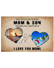 CALIFORNIA FLORIDA THE LOVE MOM AND SON 24x16 Poster front