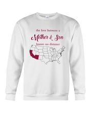 CALIFORNIA ARIZONA THE LOVE MOTHER AND SON Crewneck Sweatshirt thumbnail