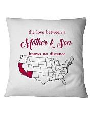 CALIFORNIA ARIZONA THE LOVE MOTHER AND SON Square Pillowcase thumbnail