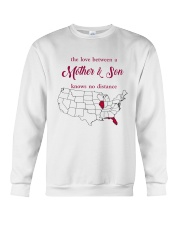 FLORIDA ILLINOIS THE LOVE MOTHER AND SON Crewneck Sweatshirt thumbnail