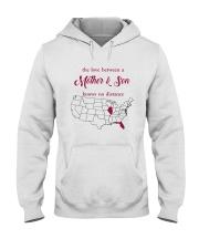 FLORIDA ILLINOIS THE LOVE MOTHER AND SON Hooded Sweatshirt thumbnail