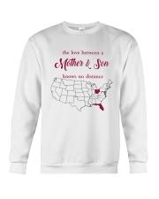 FLORIDA OHIO THE LOVE MOTHER AND SON Crewneck Sweatshirt thumbnail