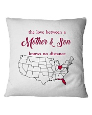 FLORIDA OHIO THE LOVE MOTHER AND SON Square Pillowcase thumbnail