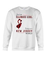 JUST A NEW YORK GIRL IN A PENNSYLVANIA WORLD Crewneck Sweatshirt thumbnail