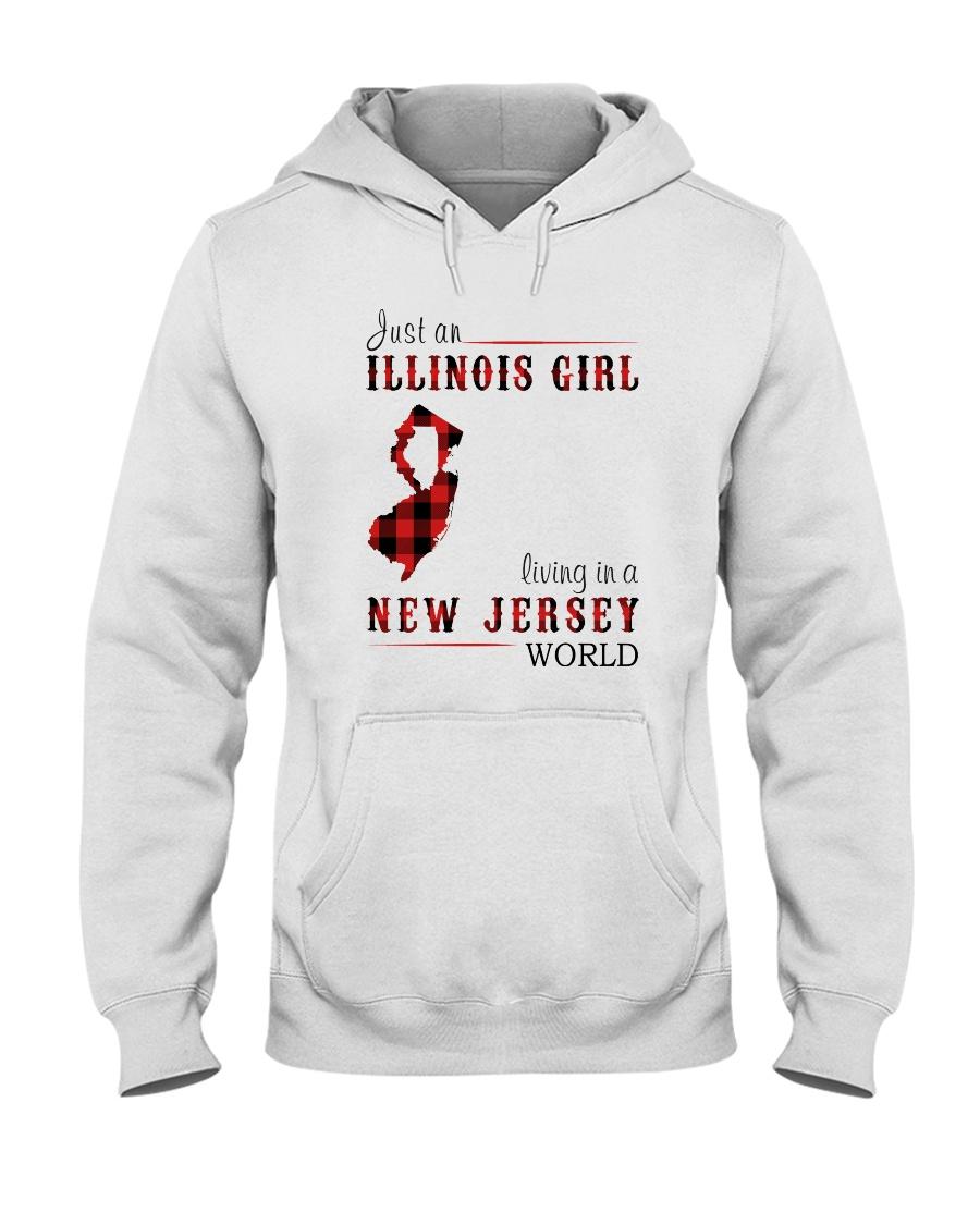 JUST A NEW YORK GIRL IN A PENNSYLVANIA WORLD Hooded Sweatshirt