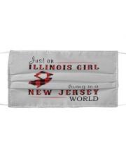 JUST A NEW YORK GIRL IN A PENNSYLVANIA WORLD Cloth face mask thumbnail