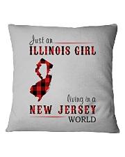 JUST A NEW YORK GIRL IN A PENNSYLVANIA WORLD Square Pillowcase thumbnail