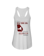 JUST A NEW YORK GIRL IN A GEORGIA WORLD Ladies Flowy Tank thumbnail