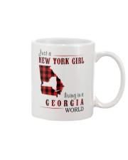 JUST A NEW YORK GIRL IN A GEORGIA WORLD Mug thumbnail