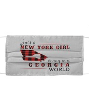 JUST A NEW YORK GIRL IN A GEORGIA WORLD Cloth face mask thumbnail