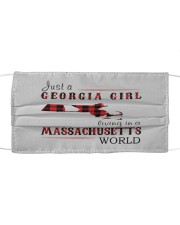 JUST A GEORGIA GIRL IN A MASSACHUSETTS WORLD Mask tile