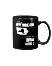 JUST A NEW YORK GUY IN AN IOWA WORLD Mug thumbnail
