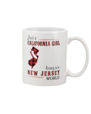 JUST A CALIFORNIA GIRL IN A NEW JERSEY WORLD Mug thumbnail