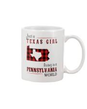 JUST A TEXAS GIRL IN A PENNSYLVANIA WORLD Mug thumbnail