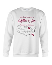 FLORIDA WISCONSIN THE LOVE MOTHER AND SON Crewneck Sweatshirt tile
