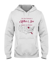 FLORIDA WISCONSIN THE LOVE MOTHER AND SON Hooded Sweatshirt tile