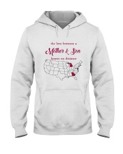 GEORGIA MICHIGAN THE LOVE MOTHER AND SON Hooded Sweatshirt thumbnail