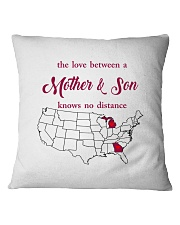 GEORGIA MICHIGAN THE LOVE MOTHER AND SON Square Pillowcase thumbnail