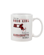 JUST AN OHIO GIRL IN A MASSACHUSETTS WORLD Mug thumbnail