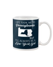 LIFE TOOK ME 2 PENNSYLVANIA - NEW YORK Mug thumbnail