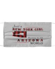 JUST A NEW YORK GIRL IN AN ARIZONA WORLD Cloth face mask thumbnail