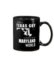 JUST A TEXAS GUY IN A MARYLAND WORLD Mug thumbnail