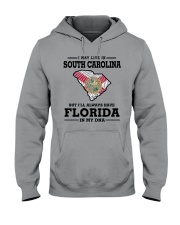 LIVE IN SOUTH CAROLINA BUT FLORIDA IN MY DNA Hooded Sweatshirt thumbnail