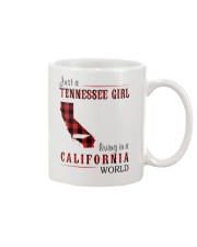 JUST A TENNESSEE GIRL IN A CALIFORNIA WORLD Mug thumbnail