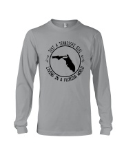 TENNESSEE GIRL LIVING IN FLORIDA WORLD Long Sleeve Tee thumbnail
