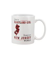 JUST A MARYLAND GIRL IN A NEW JERSEY WORLD Mug thumbnail