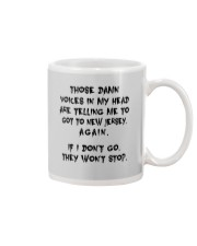 VOICES IN MY HEAD ARE TELLING TO GOT TO NEW JERSEY Mug thumbnail