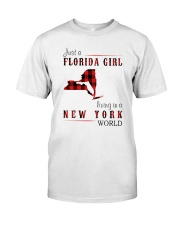 JUST A FLORIDA GIRL IN A NEW YORK WORLD Classic T-Shirt thumbnail