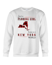 JUST A FLORIDA GIRL IN A NEW YORK WORLD Crewneck Sweatshirt thumbnail