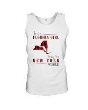 JUST A FLORIDA GIRL IN A NEW YORK WORLD Unisex Tank thumbnail