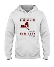 JUST A FLORIDA GIRL IN A NEW YORK WORLD Hooded Sweatshirt front
