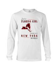 JUST A FLORIDA GIRL IN A NEW YORK WORLD Long Sleeve Tee thumbnail