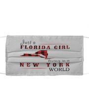 JUST A FLORIDA GIRL IN A NEW YORK WORLD Cloth face mask thumbnail
